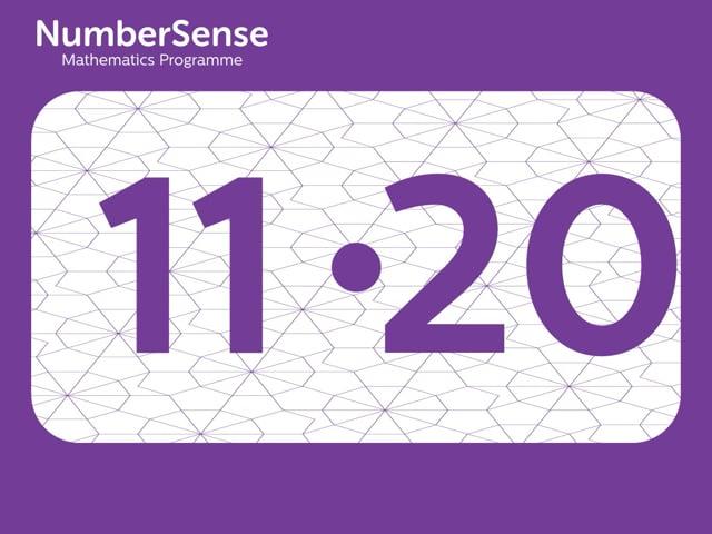 NumberSense Manipulating Numbers: Level 11, Task 20 (Gr.3, T.3, Wkbk 11)