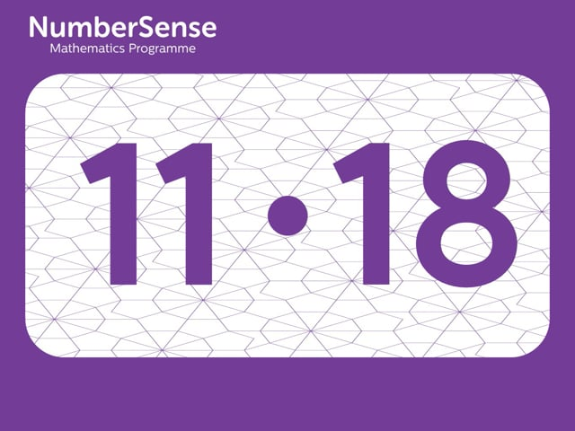 NumberSense Manipulating Numbers: Level 11, Task 18 (Gr.3, T.3, Wkbk 11)