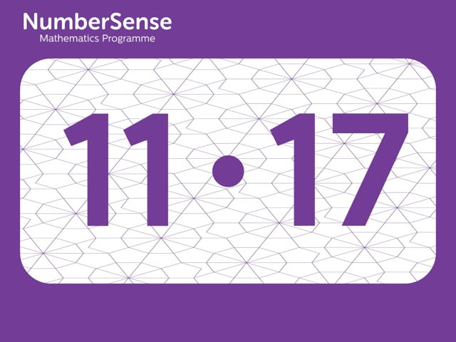 NumberSense Manipulating Numbers: Level 11, Task 17 (Gr.3, T.3, Wkbk 11)