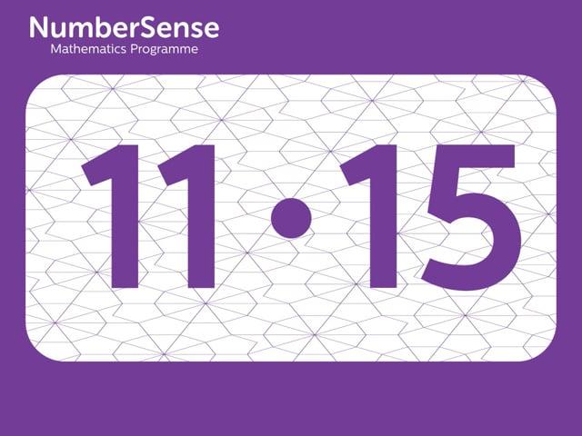 NumberSense Manipulating Numbers: Level 11, Task 15 (Gr.3, T.3, Wkbk 11)
