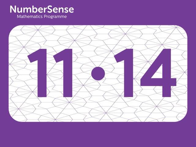 NumberSense Manipulating Numbers: Level 11, Task 14 (Gr.3, T.3, Wkbk 11)