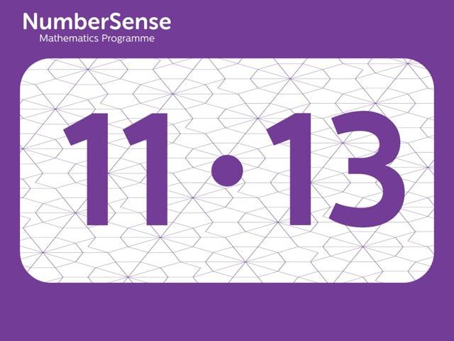 NumberSense Manipulating Numbers: Level 11, Task 13 (Gr.3, T.3, Wkbk 11)