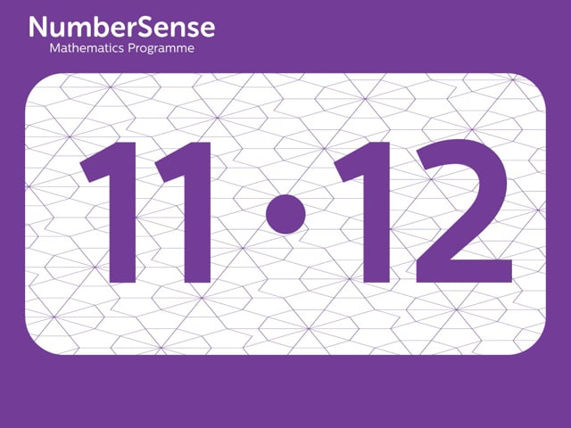 NumberSense Manipulating Numbers: Level 11, Task 12 (Gr.3, T.3, Wkbk 11)