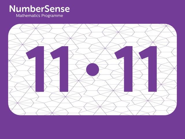 NumberSense Manipulating Numbers: Level 11, Task 11 (Gr.3, T.3, Wkbk 11)