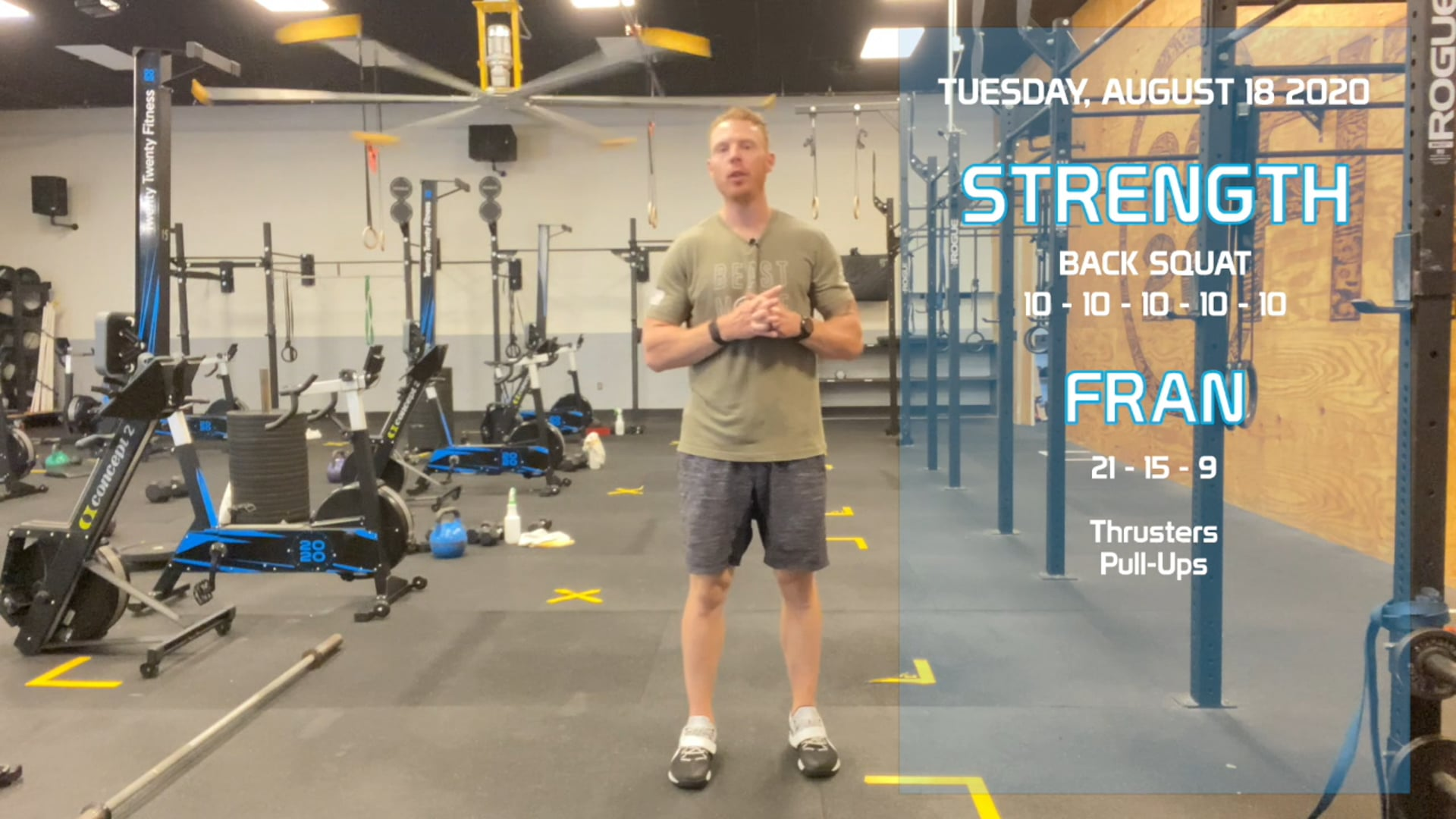 Tuesday August 18th