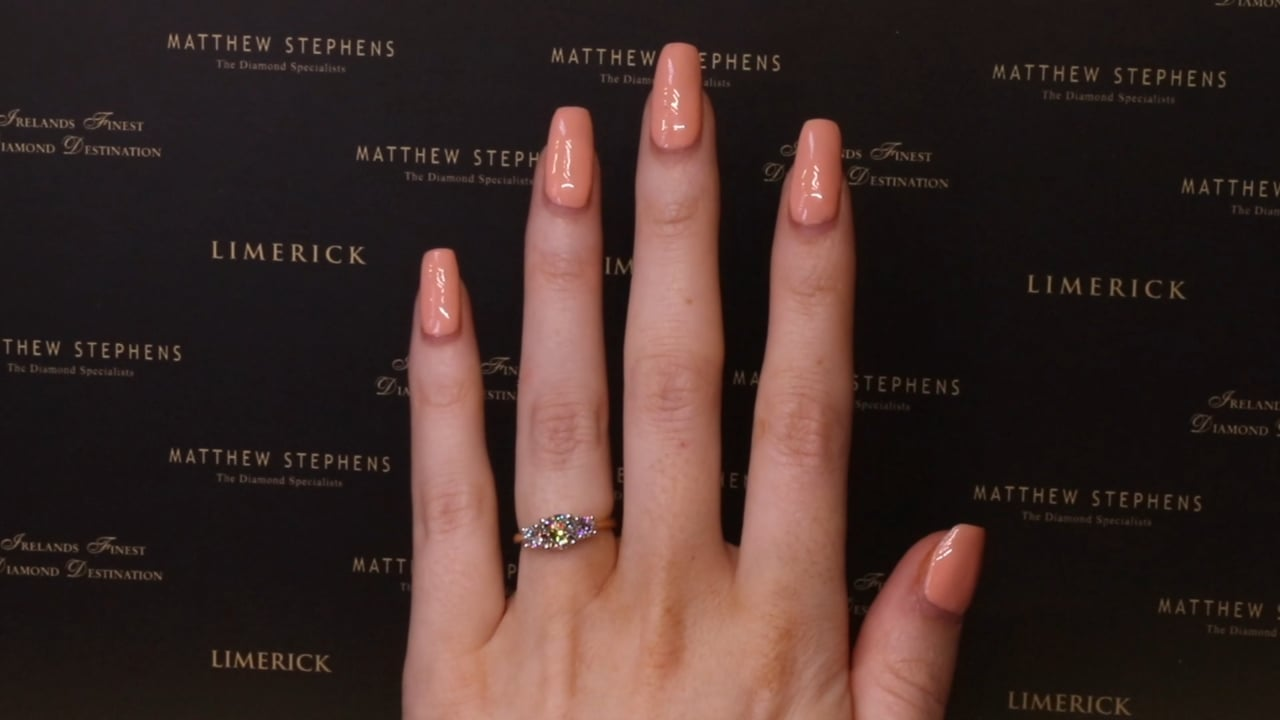 73309 - Round Brilliant Three Stone Diamond Ring, T1.51ct, Set in 18ct Yellow Gold