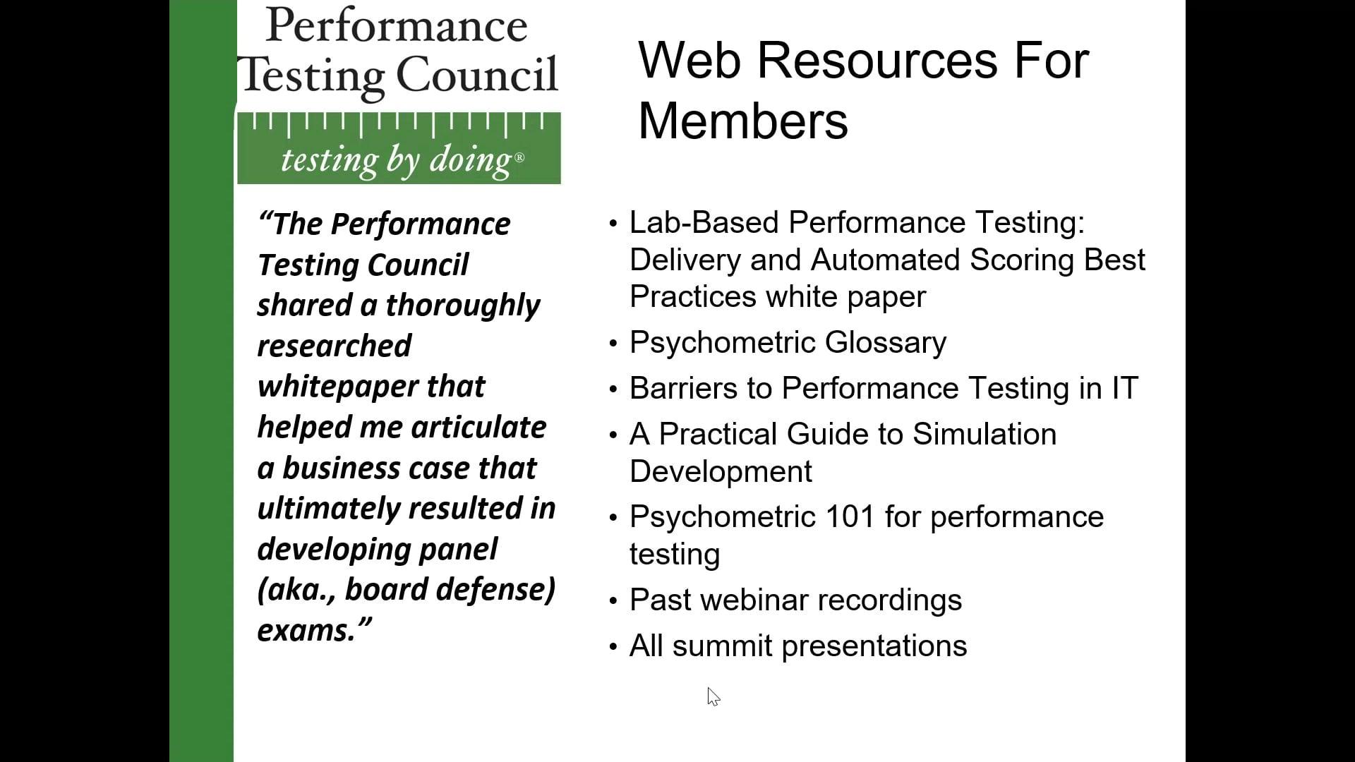 PTC webinar A Hybrid Approach to Performance Testing 2020-08-13