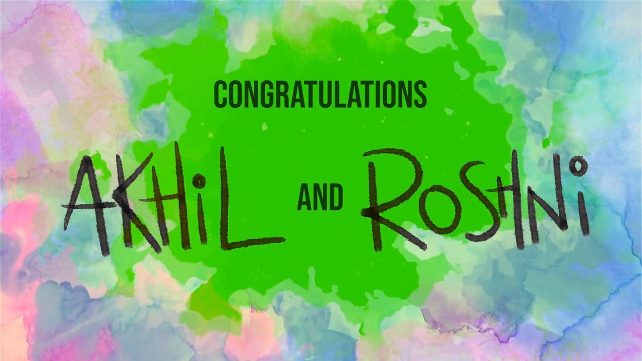 Akhil & Roshni's Proposal