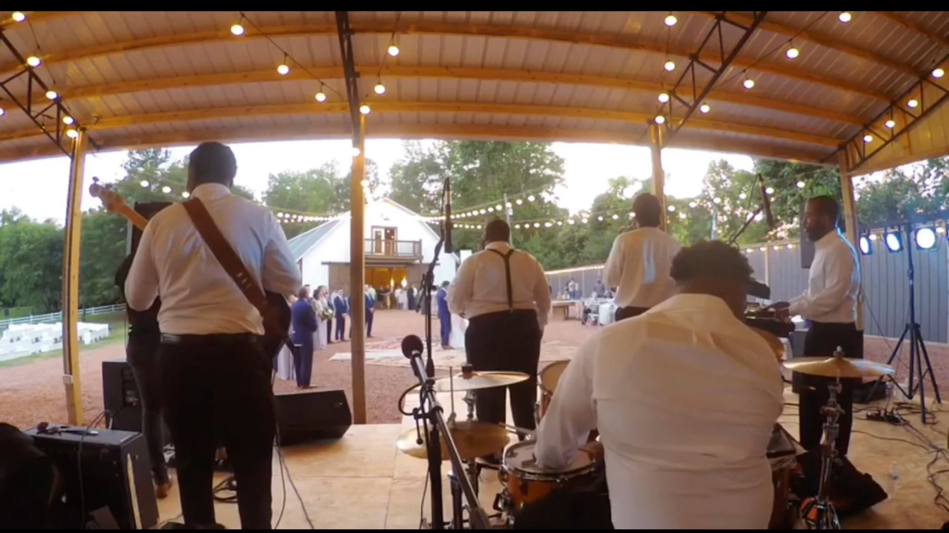 Official Clutch Band performing First Dance at Wedding Reception