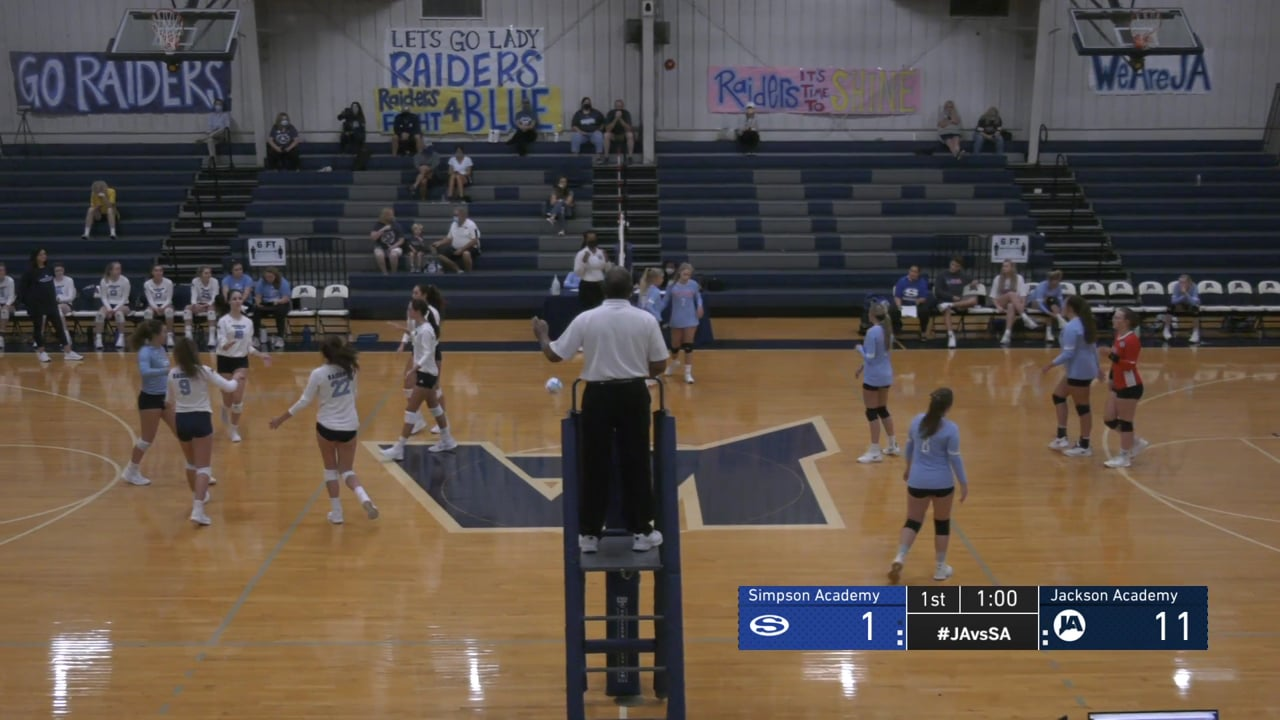 Varsity Girls Volleyball vs Simpson - 08-15-20