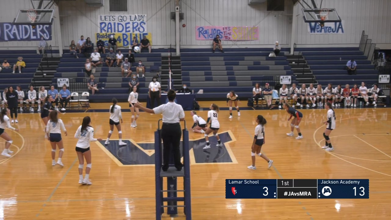 Varsity Girls Volleyball vs Lamar - 08-15-20