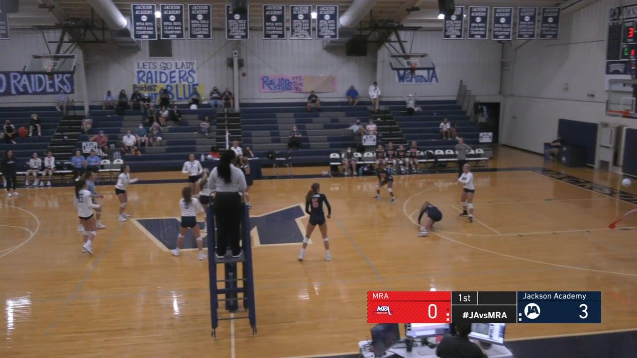 Varsity Girls Volleyball vs MRA- 08-15-20