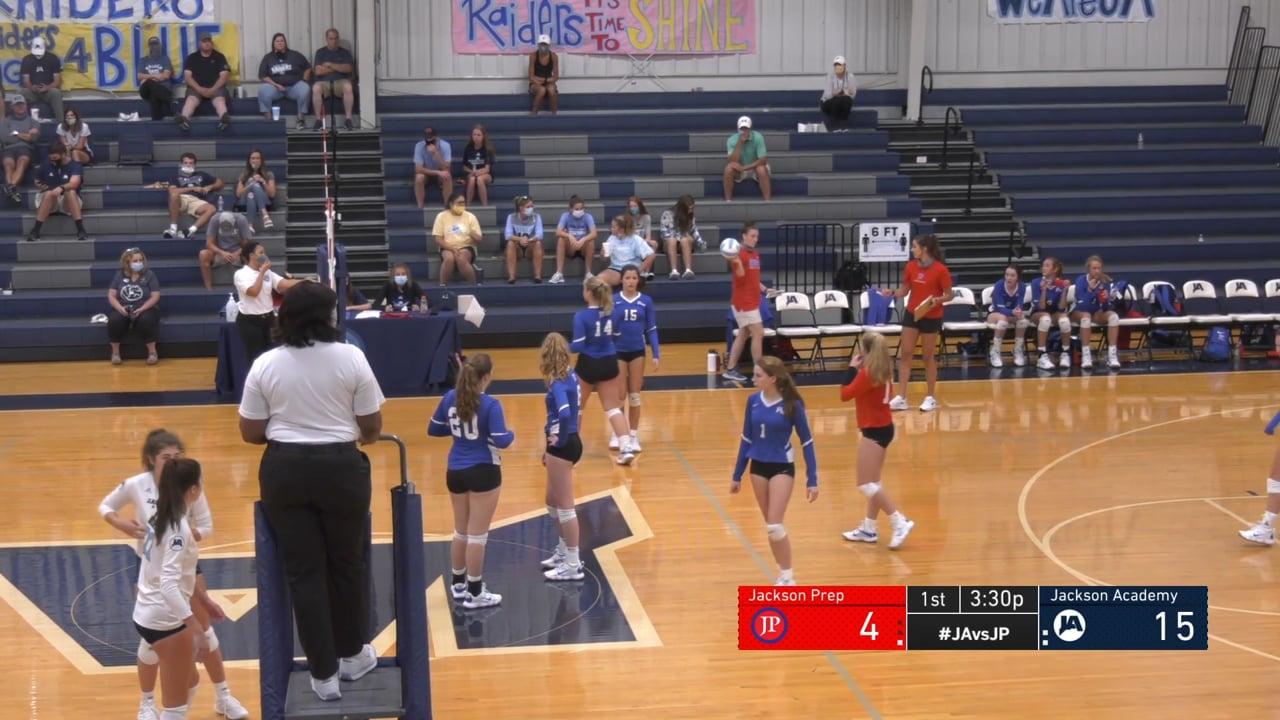 Varsity Girls Volleyball vs Prep - 08-15-20