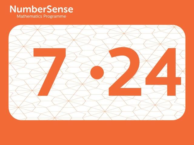 NumberSense Manipulating Numbers: Level 7, Task 24 (Gr.2, T.3, Wkbk 7)