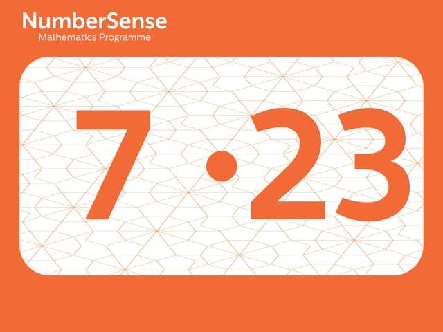 NumberSense Manipulating Numbers: Level 7, Task 23 (Gr.2, T.3, Wkbk 7)