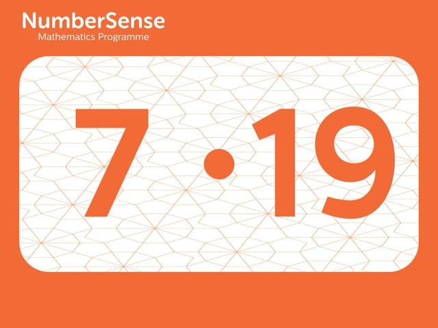 NumberSense Manipulating Numbers: Level 7, Task 19 (Gr.2, T.3, Wkbk 7)