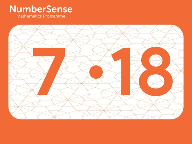 NumberSense Manipulating Numbers: Level 7, Task 18 (Gr.2, T.3, Wkbk 7)