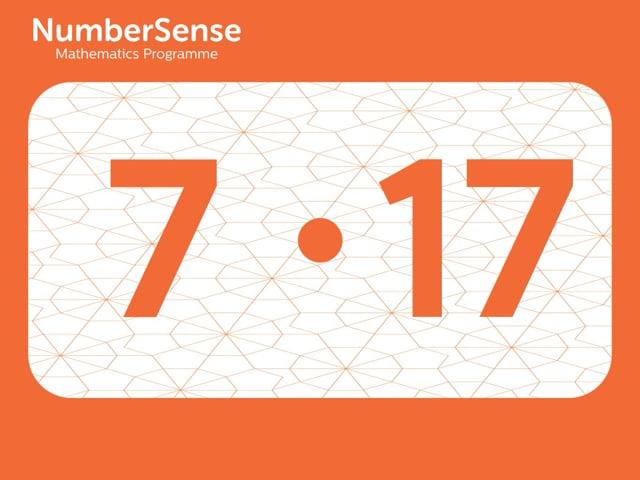 NumberSense Manipulating Numbers: Level 7, Task 17 (Gr.2, T.3, Wkbk 7)