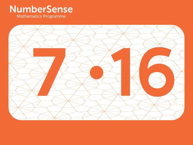 NumberSense Manipulating Numbers: Level 7, Task 16 (Gr.2, T.3, Wkbk 7)