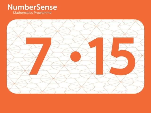 NumberSense Manipulating Numbers: Level 7, Task 15 (Gr.2, T.3, Wkbk 7)