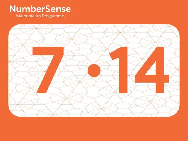 NumberSense Manipulating Numbers: Level 7, Task 14 (Gr.2, T.3, Wkbk 7)