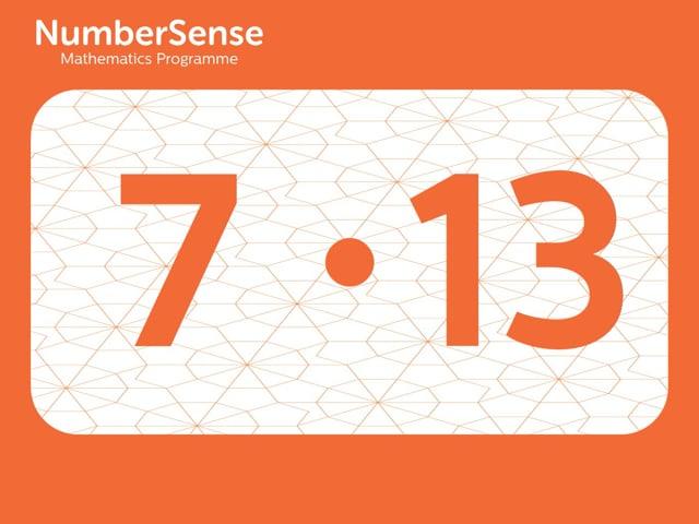 NumberSense Manipulating Numbers: Level 7, Task 13 (Gr.2, T.3, Wkbk 7)