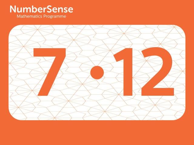 NumberSense Manipulating Numbers: Level 7, Task 12 (Gr.2, T.3, Wkbk 7)