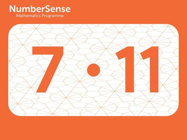 NumberSense Manipulating Numbers: Level 7, Task 11 (Gr.2, T.3, Wkbk 7)