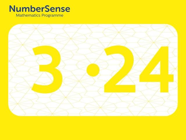 NumberSense Manipulating Numbers: Level 3, Task 24 (Gr.1, T.3, Wkbk 3)