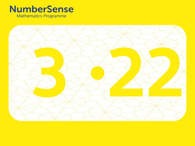 NumberSense Manipulating Numbers: Level 3, Task 22 (Gr.1, T.3, Wkbk 3)