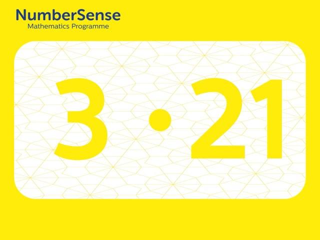 NumberSense Manipulating Numbers: Level 3, Task 21 (Gr.1, T.3, Wkbk 3)