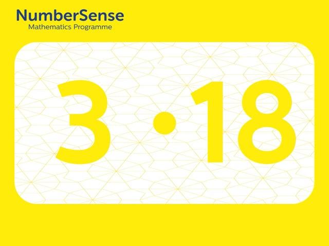 NumberSense Manipulating Numbers: Level 3, Task 18 (Gr.1, T.3, Wkbk 3)