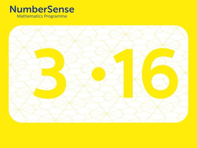 NumberSense Manipulating Numbers: Level 3, Task 16 (Gr.1, T.3, Wkbk 3)