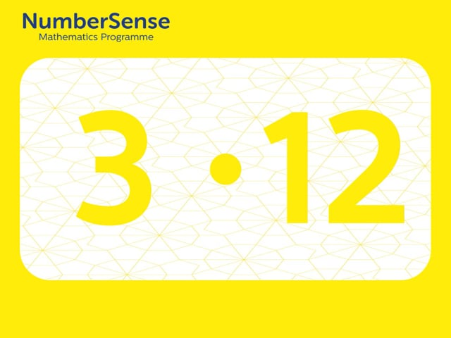 NumberSense Manipulating Numbers: Level 3, Task 12 (Gr.1, T.3, Wkbk 3)