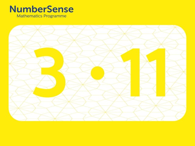 NumberSense Manipulating Numbers: Level 3, Task 11 (Gr.1, T.3, Wkbk 3)