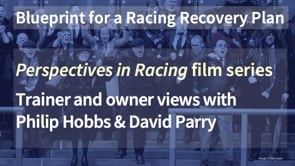Thumbnail of Trainer and Owner view with Philip Hobbs and David Parry