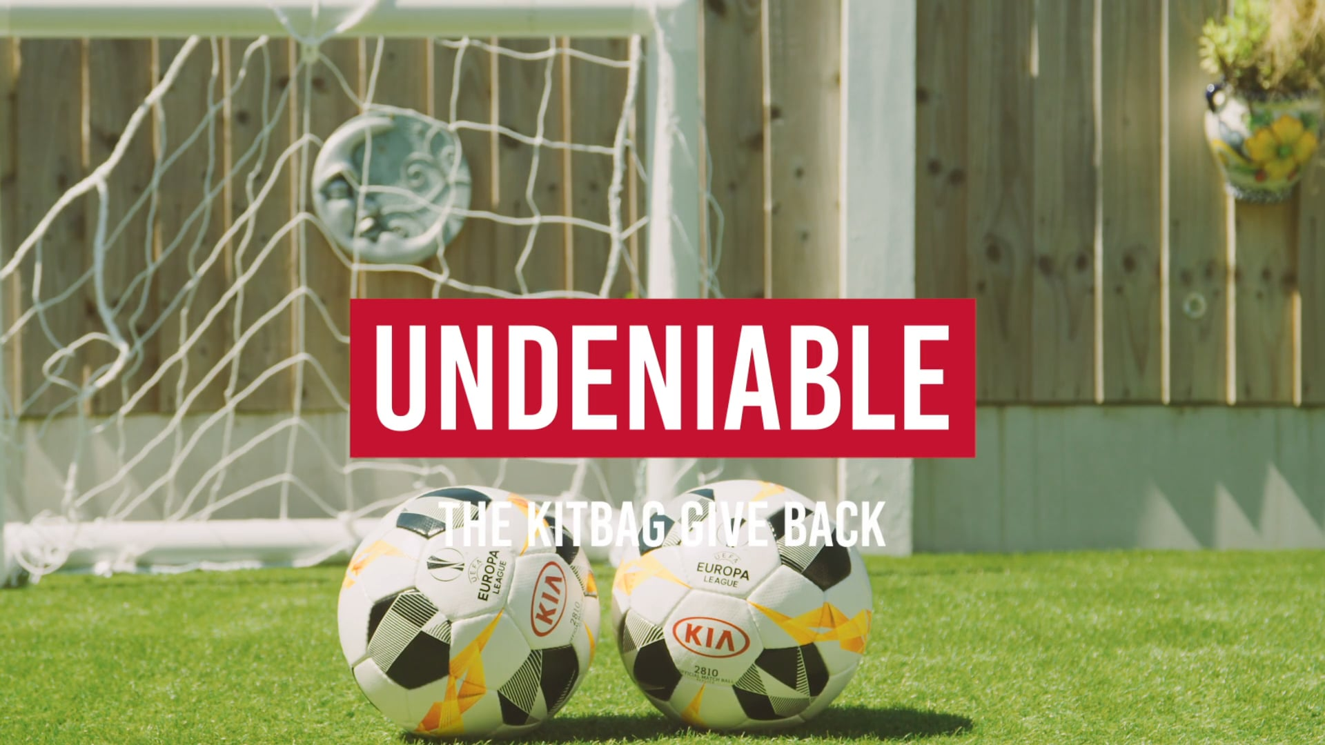 Kia x UEFA Europa League - The Kit Bag Give Back -