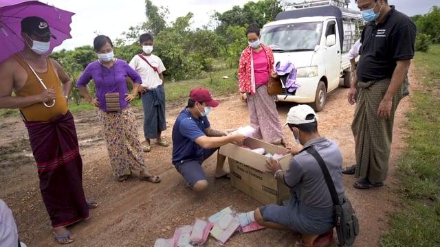 Covid-19 hygiene kits help vulnerable communities in Southeastern Myanmar