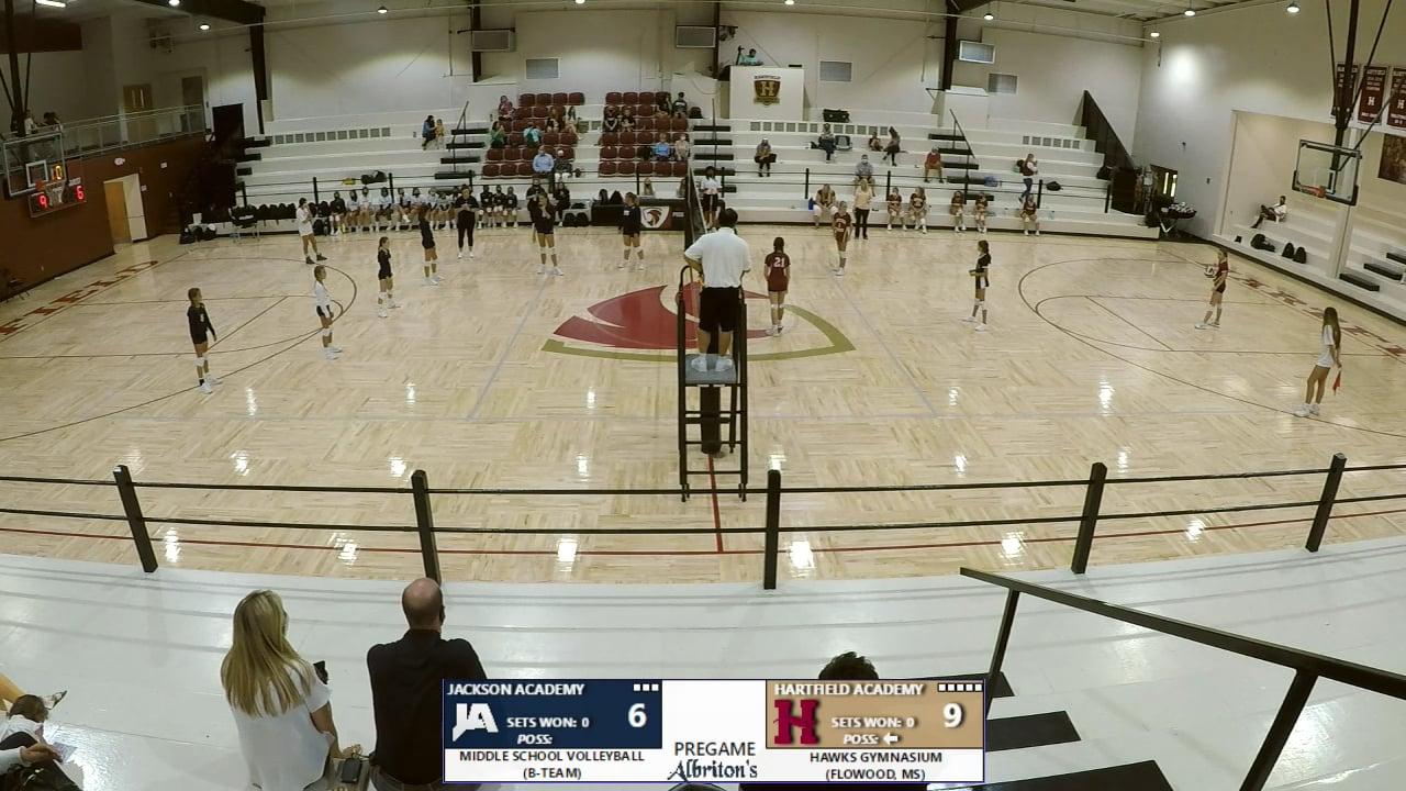 MS Volleyball B-Team vs Hartfield - 08-17-20