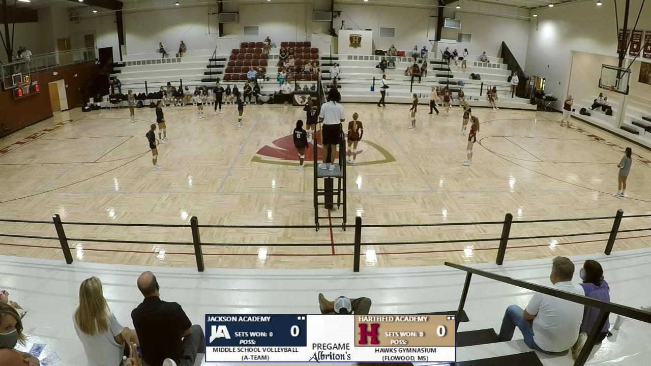 MS Volleyball A-Team vs Hartfield - 08-17-20