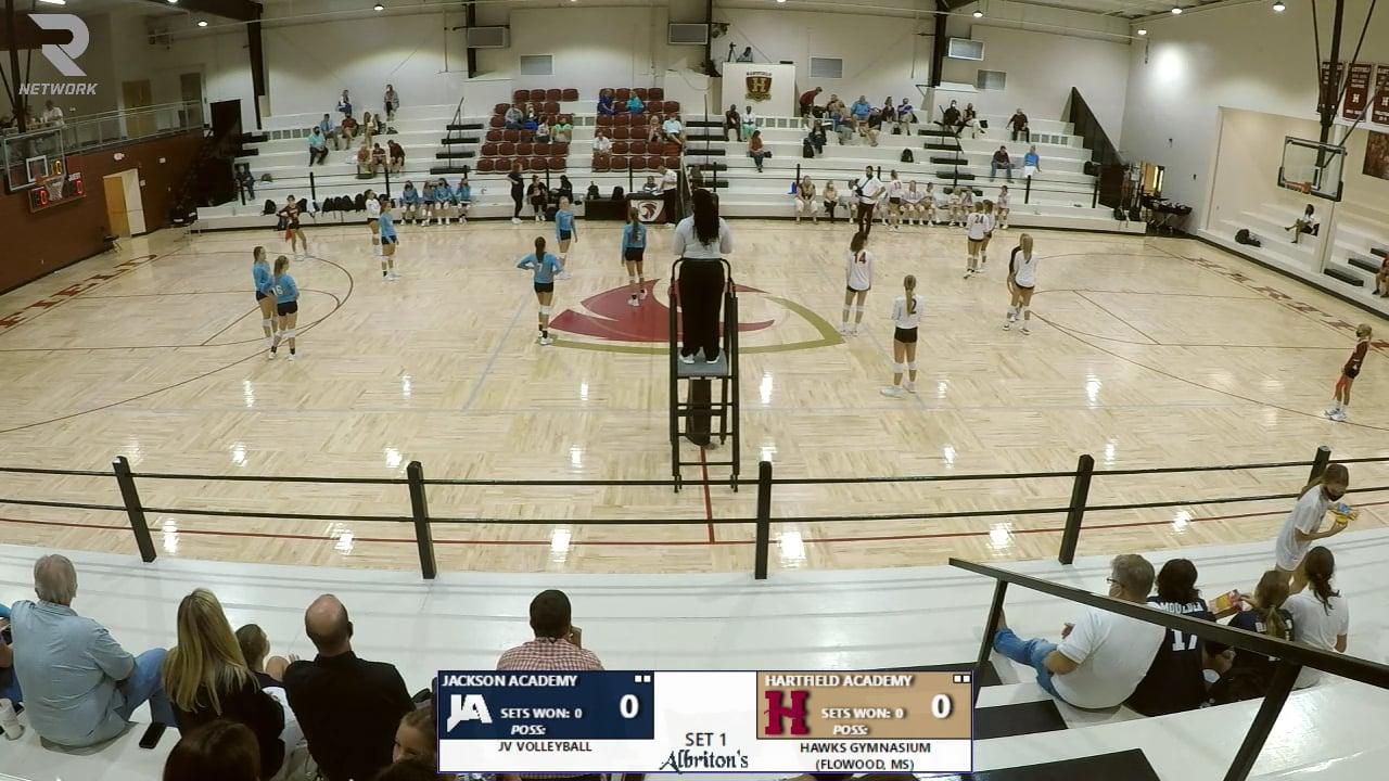 JV Volleyball vs Hartfield - 08-17-20