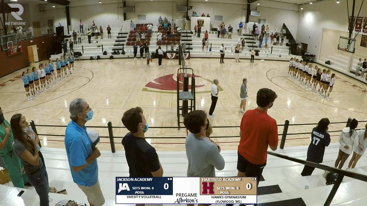 Varsity Volleyball vs Hartfield - 08-17-20