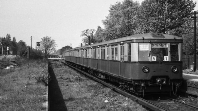 Stammbahn (S-Bhf. Düppel)
