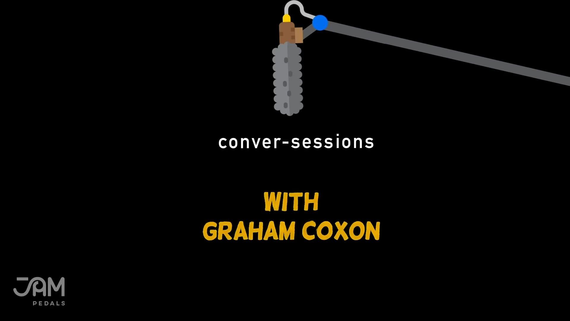 A Conver-Session with Graham Coxon  JAM pedals