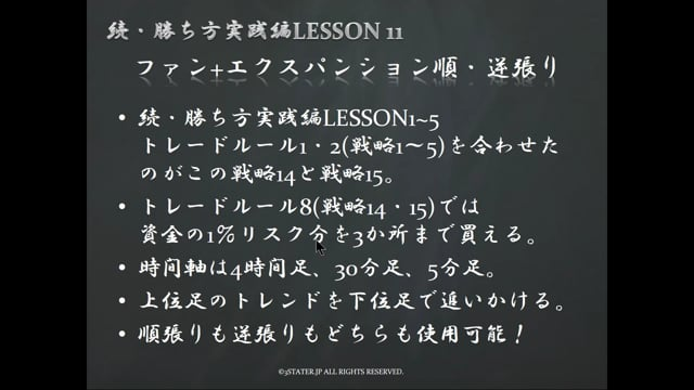 続・勝ち方実践編LESSON11デモ
