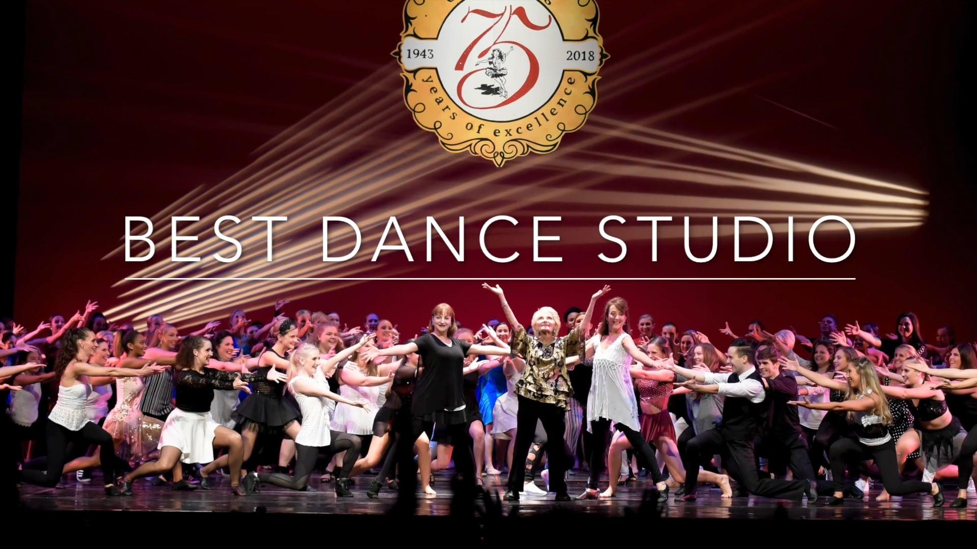 2020 Nappie Winner - BEST DANCE STUDIO