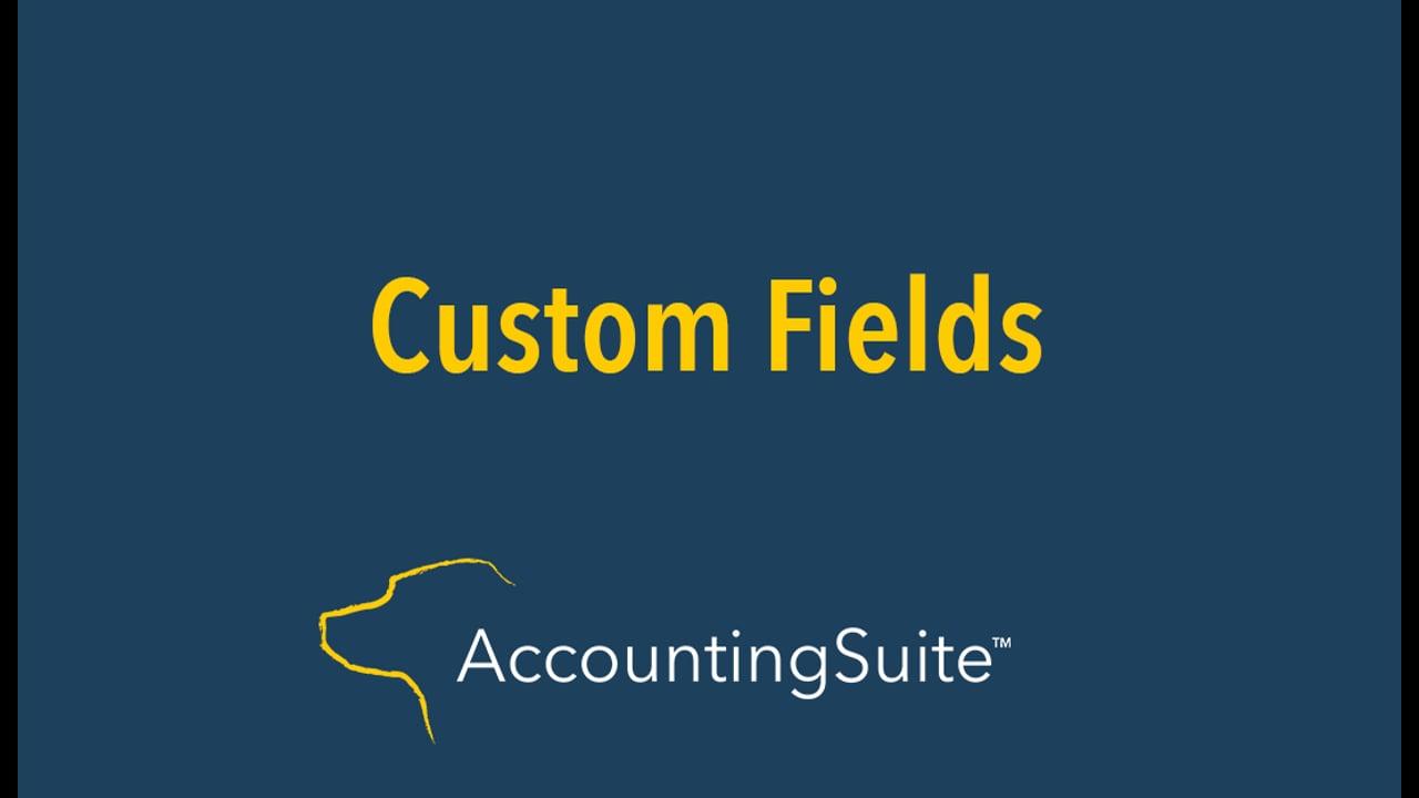 Custom Fields 08-2020