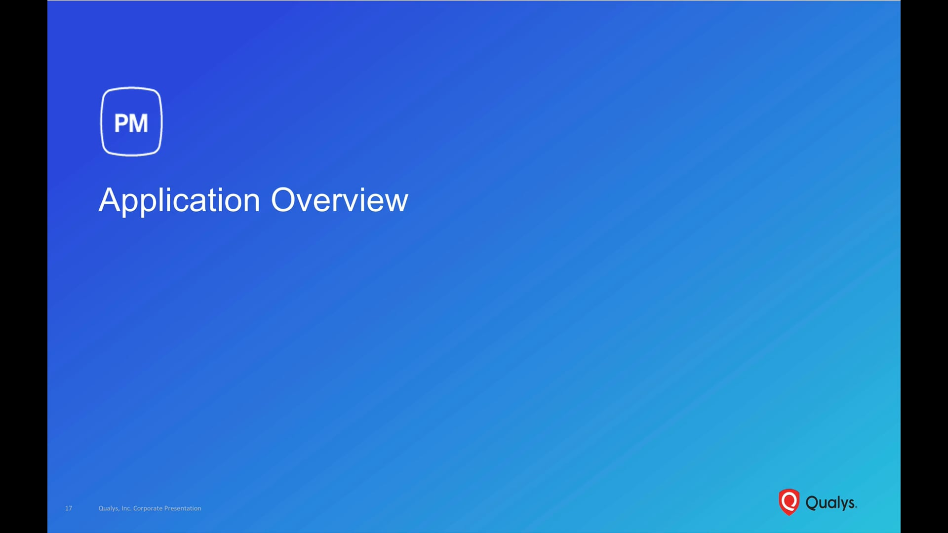 PM Application Overview