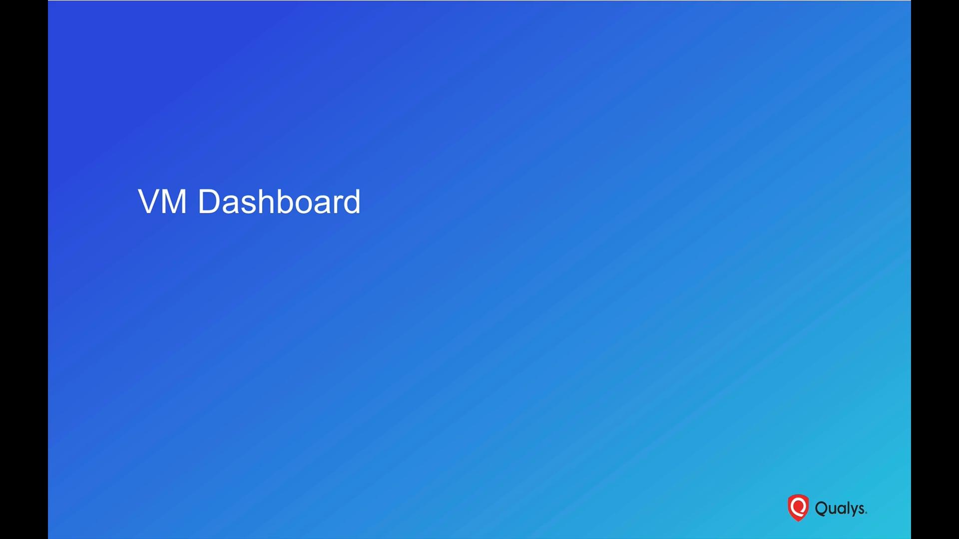 VM Dashboard