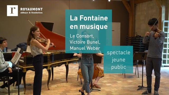 La Fontaine en musique avec Le Consort